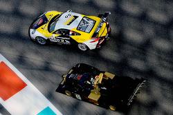 #50 Larbre Competition Porsche 991 GT3 Cup: Franck Labescat, Manuel Rodrigues, Christian Filippon, Denis Gibaud ; #45 Avelon Formula Wolf GB08: Ivan Bellarosa, Guglielmo Belotti, Ricardo Teixeira
