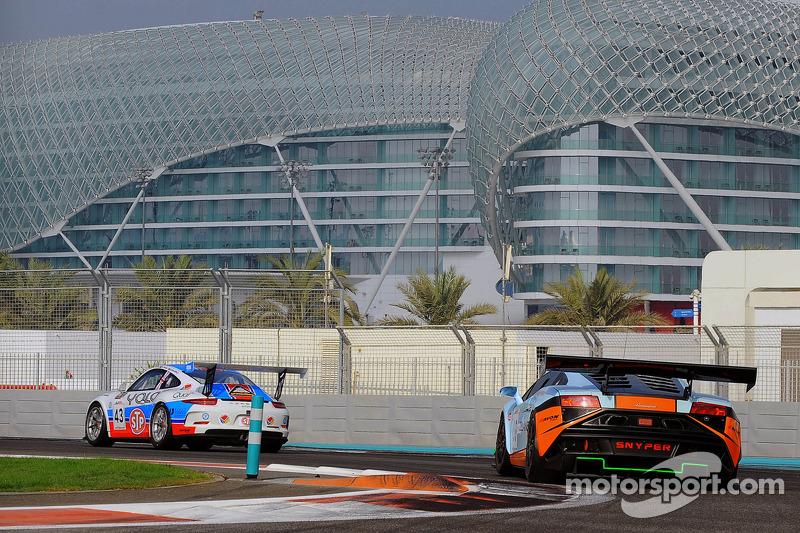 #69 Gulf Racing 兰博基尼 盖拉多 FL2: 罗阿尔德·哥特, 斯图瓦特·霍尔, 弗里德利·法蒂安