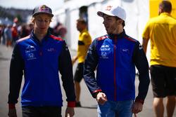 Brendon Hartley, Toro Rosso, avec Pierre Gasly, Toro Rosso