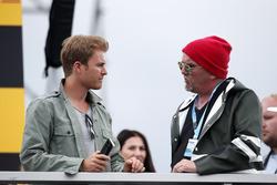 Nico Rosberg and DJ Ötzi