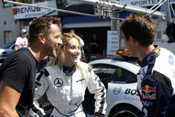 Sébastien Ogier is driving Mercedes-AMG C63 DTM with his wife Andrea Kaiser and Timo Scheider