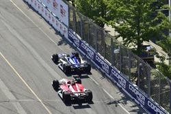 Takuma Sato, Rahal Letterman Lanigan Racing Honda, Marco Andretti, Herta - Andretti Autosport Honda