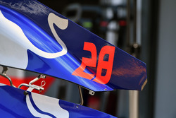 Scuderia Toro Rosso STR13 bodywork detail