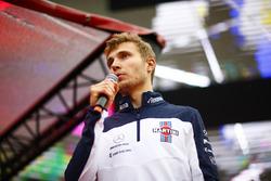 Sergey Sirotkin, Williams, on stage