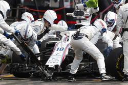 Lance Stroll, Williams FW41, makes a