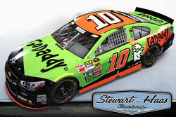 A 2015 paint scheme for Danica Patrick, Stewart-Haas Racing