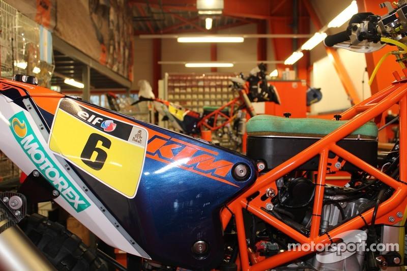 KTM2015年达喀尔展示