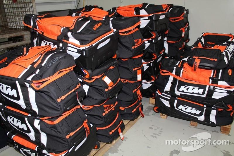 Preparazioni KTM per la Dakar 2015