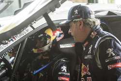 Carlos Sainz y Cyril Despres