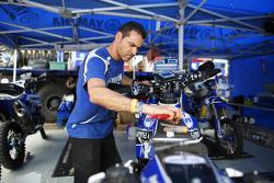 Yamaha-Vorbereitungen