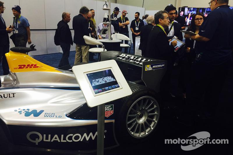 360 Racing's technology se muestra en el CES