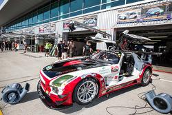 #9 Hoдля-Racing Mercedes SLS AMG GT3