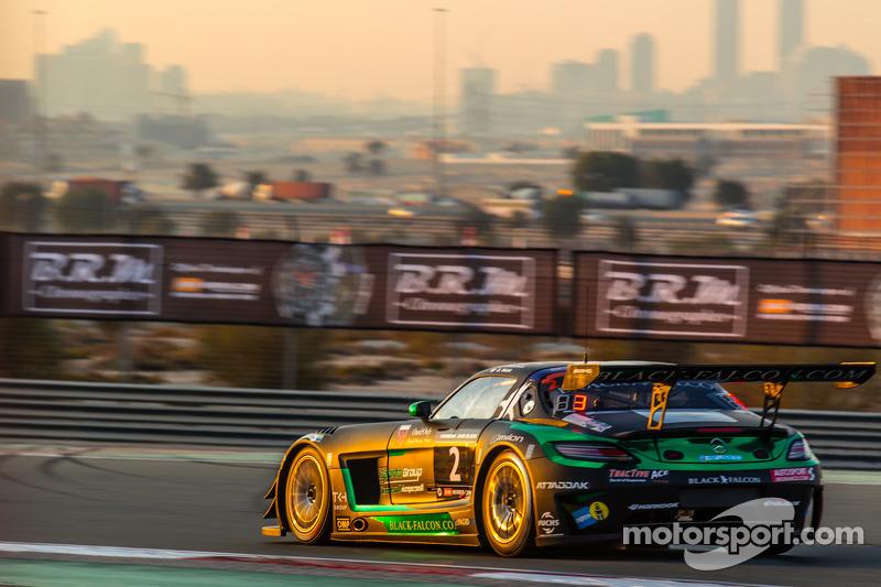 #2 Black Falcon, Mercedes SLS AMG GT3: Abdulaziz Al Faisal, Hubert Haupt, Yelmer Buurman, Oliver Web