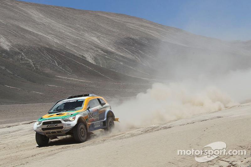 #324 Mitsubishi: Guilherme Spinelli, Youssef Haddad
