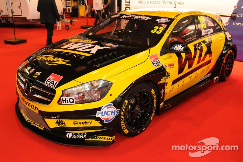 Adam Morgan, Wix Racing Mercedes A-Class