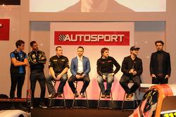 Stars du BTCC sur la scène Autosport