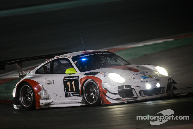 #11 Fach Auto Tech Porsche 997 GT3 R: Marcel Wagner, Heinz Bruder, Erwin Keller, Heinz Arnold, Matte