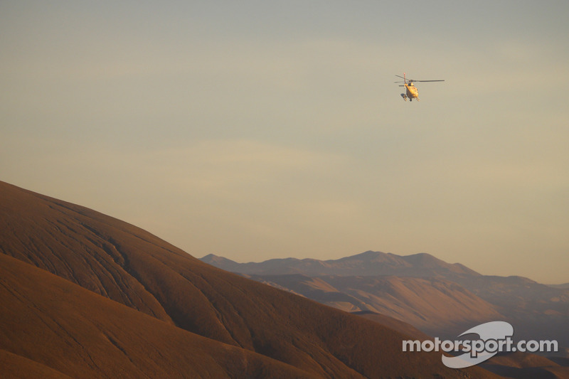 Scenic Dakar and helicopter