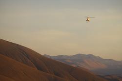 Dakar y helicoptero