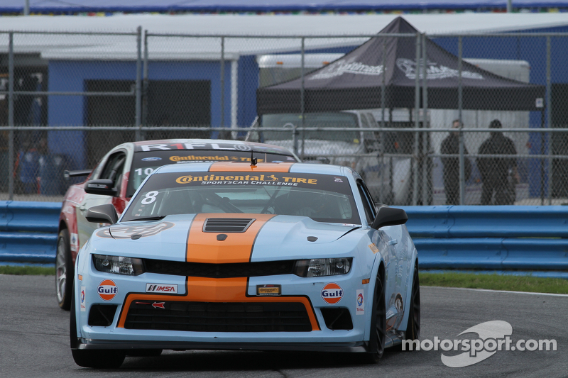 #8 Mantella Autosport, Camaro Z/28.R: Anthony Mantella, Mark Wilkins, Martin Barkey, Kyle Marcelli