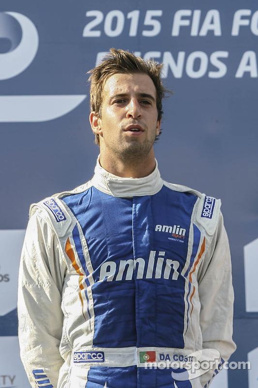 Vencedor Antonio Felix da Costa, Amlin Aguri