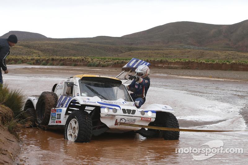 #330 MD Buggy: Romain Dumas, François Borsotto in difficoltà