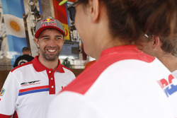 Helder Rodrigues am Ruhetag der Motorräder