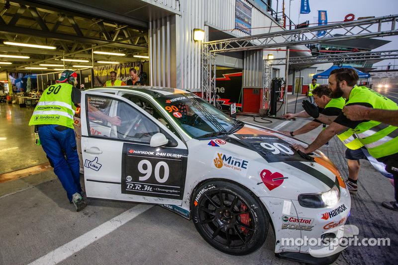#90 Car Point S Racing Schmieglitz Seat Leon Supercopa: Daniel Schmieglitz, Cyndie Allemann, Heino B