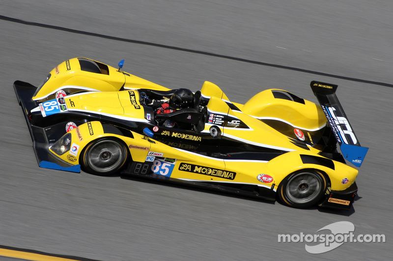 #85 JDC/Miller Motorsports ORECA FLM09: Rusty Mitchell, Stephen Simpson, Міхаіл Гойкберг