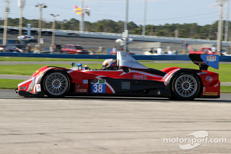 #38 Performance Tech Motorsports, Oreca FLM09: James French, Jerome Mee, Dalton Sargent, David Ostella