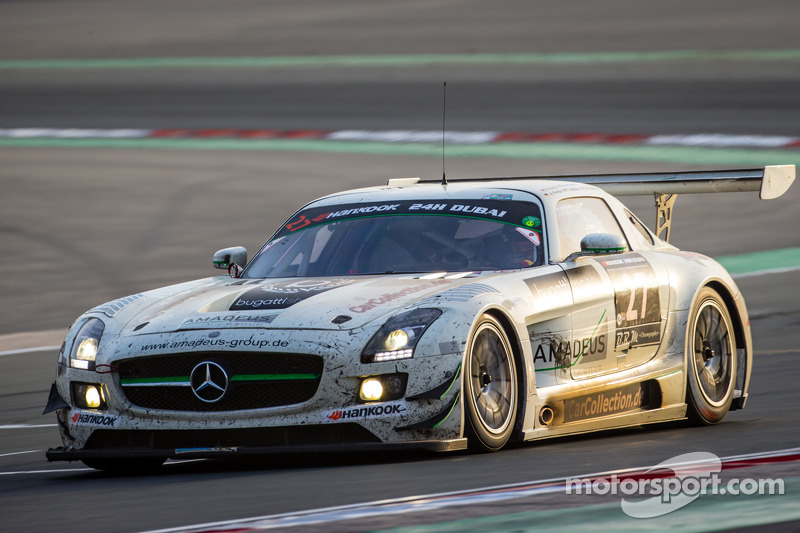 #27 Car Collection Motorsport, Mercedes SLS AMG GT3: Tim Müller, Dirg Parhofer, Jürgen Krebs, Pierre