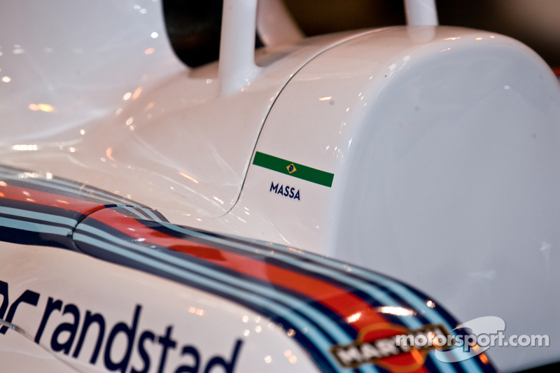 Williams Formel-1-Auto, Detail