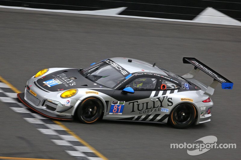 #81 GB Autosport Porsche 911 GT America: Damien Faulkner, Kuba Giermaziak, Mike Skeen, Rory Butcher, Michael Avenatti