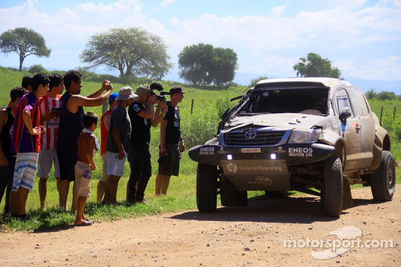 #339 Toyota: Benediktas Vanagas, Andrei Rudnitski in difficoltà