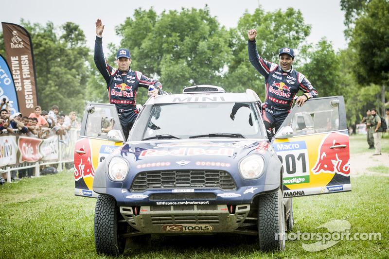 Car category переможці #301 Mini: Нассер Аль-Аттія, Матьє Бомел