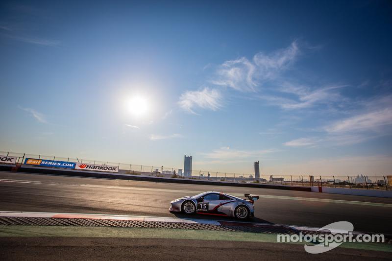 #15 Glorax Racing Ferrari 458 Italia GT3: Andrey Birzhin Alexandrovich, Rino Mastronardi, Dimitri De