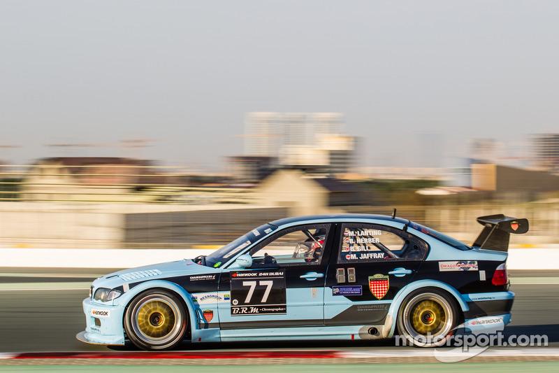 #77 JR Motorsport BMW E46 GTR: Bob Herber, Martin Lanting, Ben Gill, Mark Jaffray