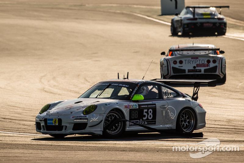 #58 HRT Performance Porsche 997 Cup: Andreas Marc Riedl, Santiago Creel, Kim Hauschild, Oscar Arroyo