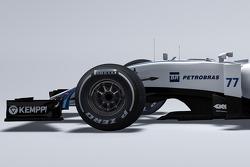 Detail vom neuen Williams FW37