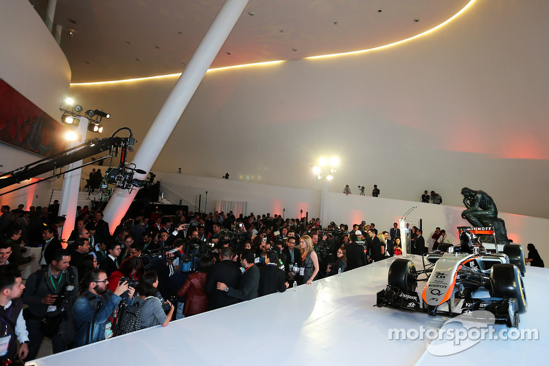 Sahara Force India F1 Team 2015 Livery unveil
