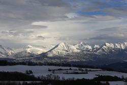مناظر خلابة لجبال الآلب