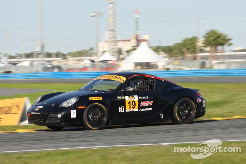 #19 RS1, Porsche Cayman: Connor Bloum, Greg Strelzoff