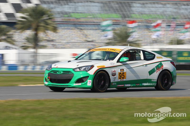 #95 Irish Mike's Racing Hyundai Genesis: Conor Flynn, Alix Bolans
