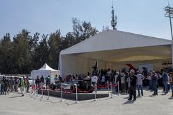 Bauarbeiten am Autodromo Hermanos Rodriguez