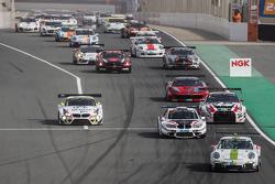 Pace-Lap: #26 Black Falcon, Porsche 991 Cup: Saud Al Faisal, Anders Fjordbach, Keita Sewa, Andreas Weishaupt, Patrick Huisman