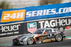 #6 Gravity Racing International Mercedes SLS AMG GT3: Vincent Radermecker, Eric Lux, Gérard Lopez, Loris de Sordi, Andy Ruhan