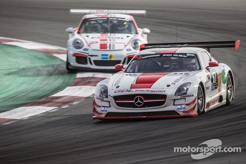 #67 GDL Racing Mercedes SLS AMG GT3: Luc Braams, Max Braams, Duncan Huisman, Hannes Waimer