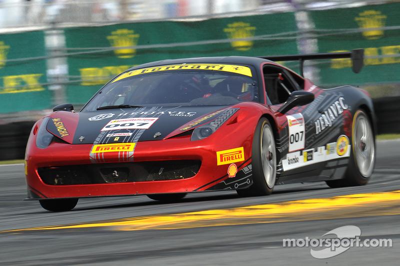 #007 Ferrari of Ontario, Ferrari 458: Robert Herjavec
