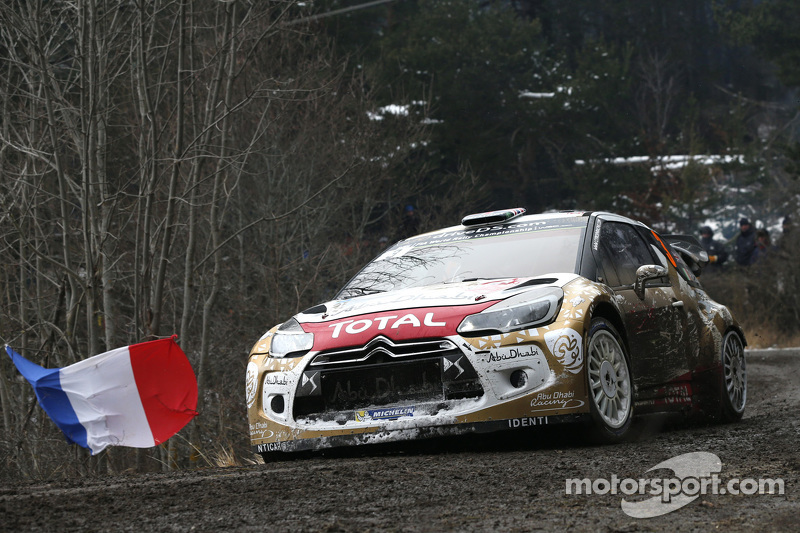 Kris Meeke und Paul Nagle, Citroën DS3 WRC, Citroën Total Abu Dhabi World Rally Team