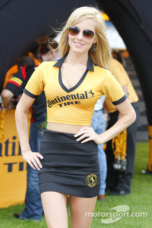 Lovely Continental tire girl